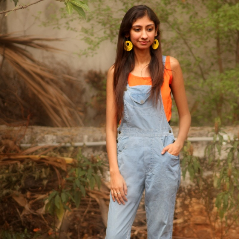 dungarees for women, dungarees online shopping, how to style jumpsuits, indian fashion blog, top fashion blogs india