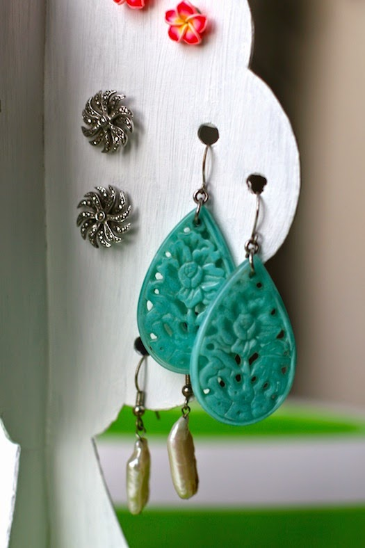 DIY Earring Storage Tree