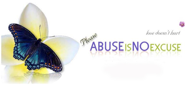 Abuse is no excuse