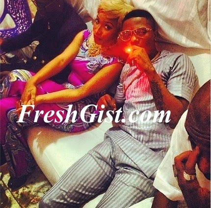Tonto Dikeh With Wizkid: Tonto Spotted With Wizkid After Long While