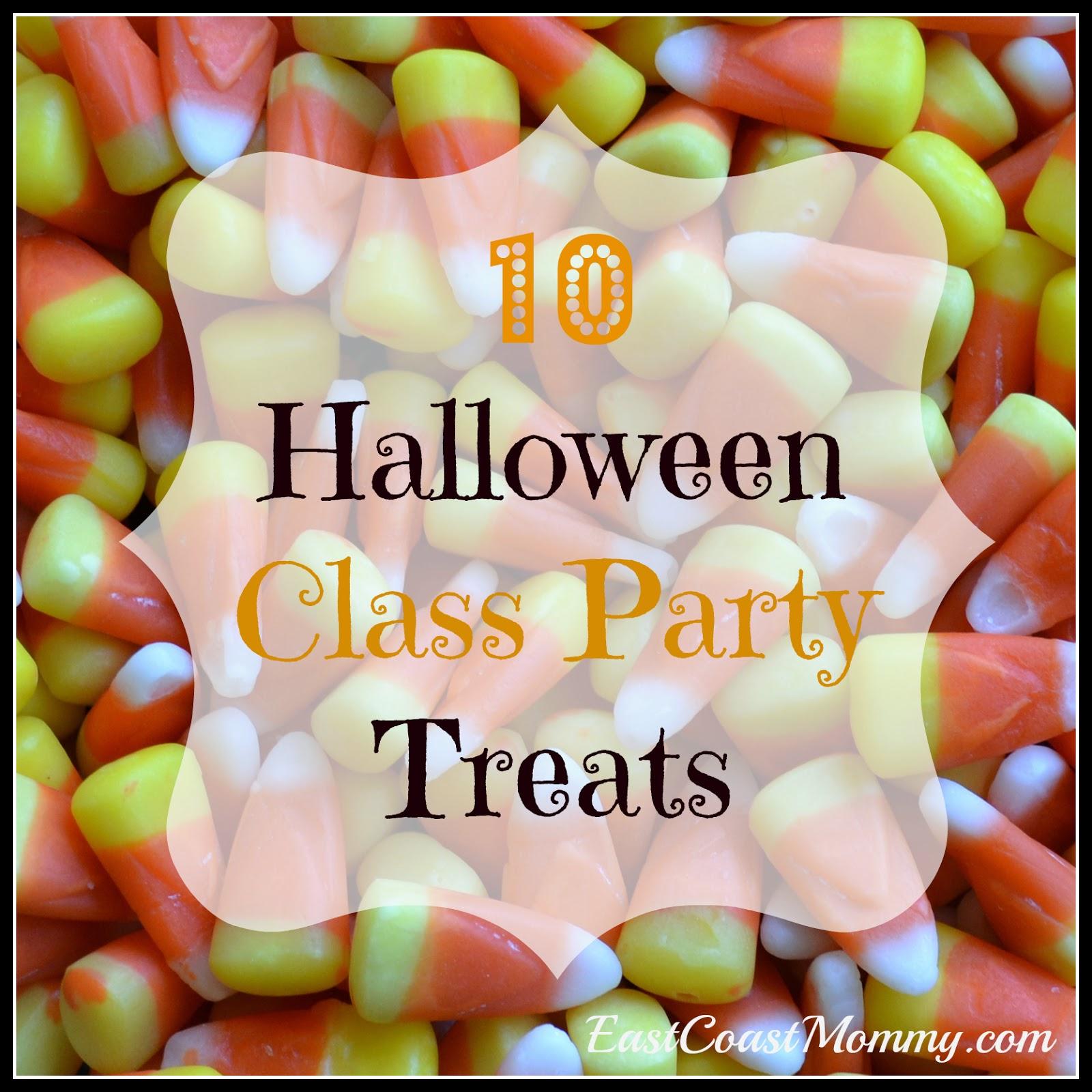 East coast mommy 10 halloween class party treats for Easy fun halloween treats for school