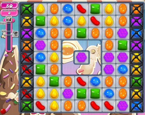 nivel 45 candy crush saga