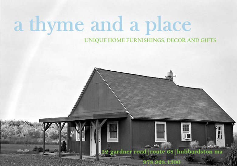 a thyme and a place