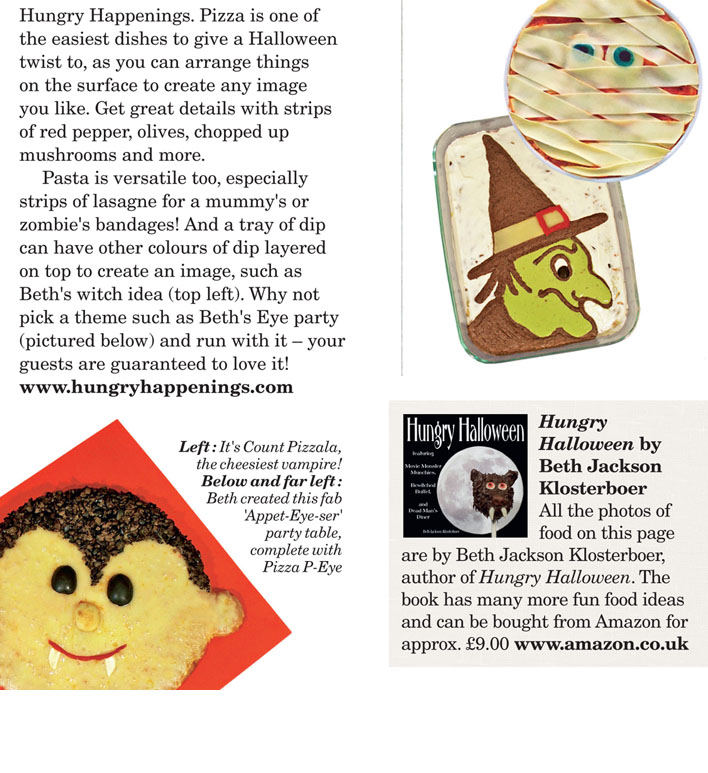 some of the recipes pictured in the article are published in my book while others were created for my hungry halloween blog i recently decided to merge my - Article About Halloween