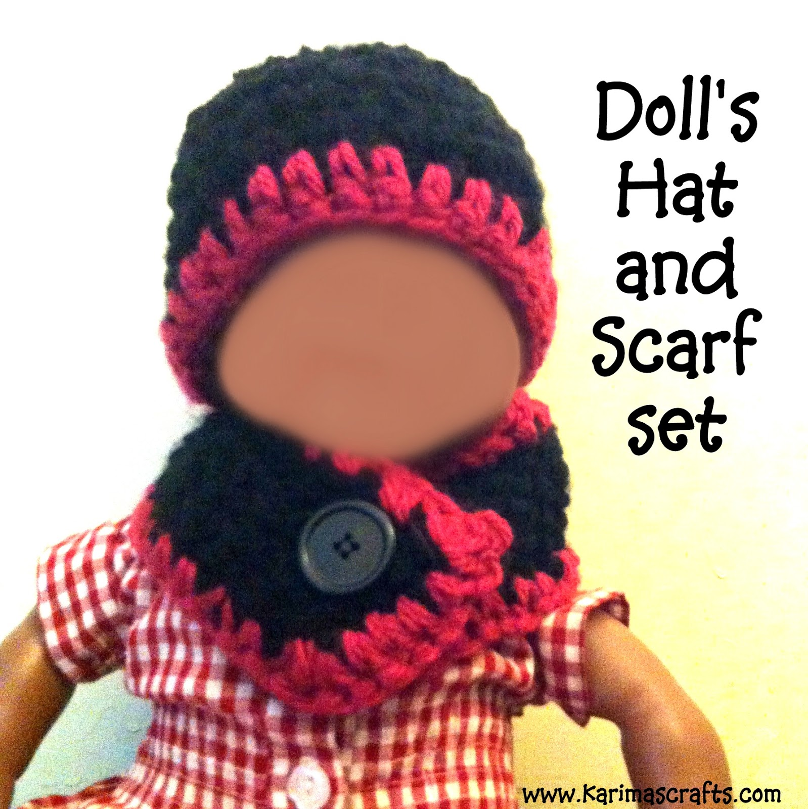 hat and scarf doll crochet muslim blog