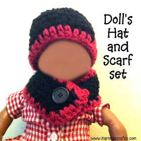hat and scarf doll crochet muslim blog