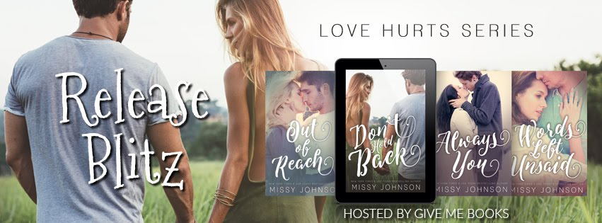 Don't Hold Back Series Release Blitz