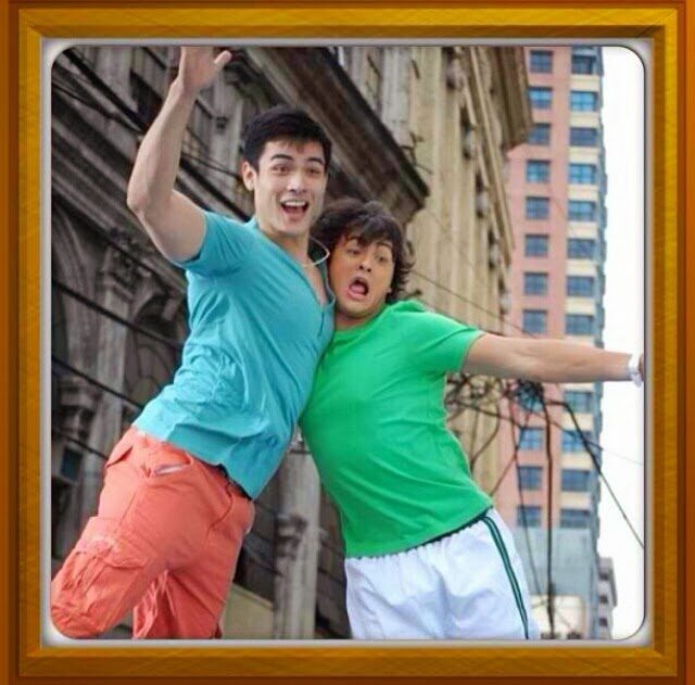 Caption This: Xian Lim and Matteo Guidicelli
