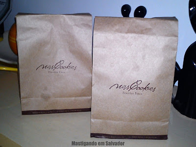 Miss Cookies: Embalagens