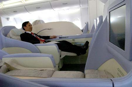 Cool jet airlines airbus a380 interior for Avion airbus a380 interieur