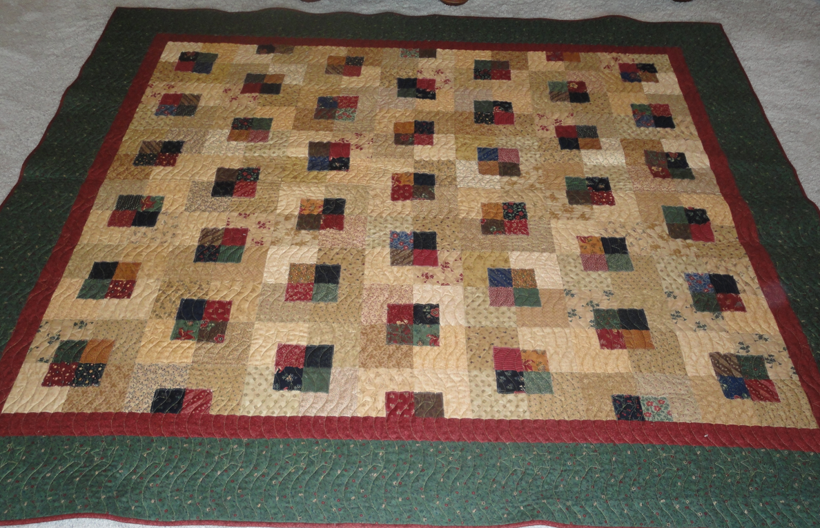 Kansas Troubles Quilters: Another Monday Winner : five and dime quilt - Adamdwight.com