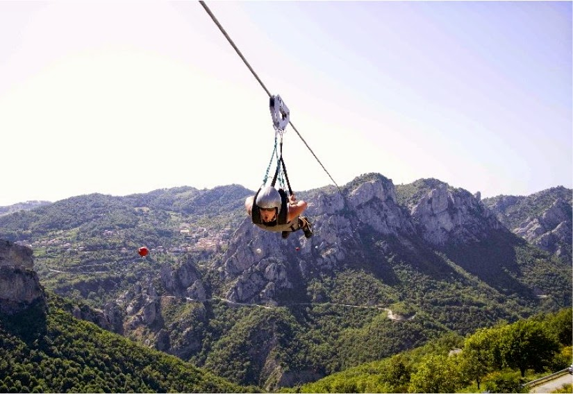 Pietraprtosa, Bungee Jumping in Italy