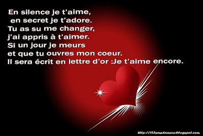 msg d'amour - sms d'amour