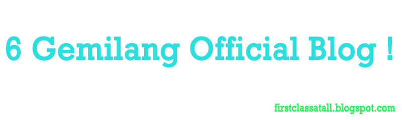 6 Gemilang Official Blog (2012)