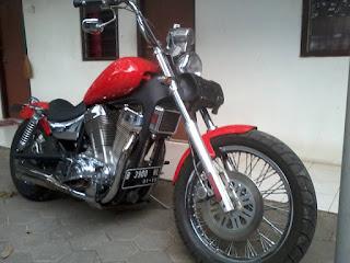 Dijual Suzuki Intruder 1400cc