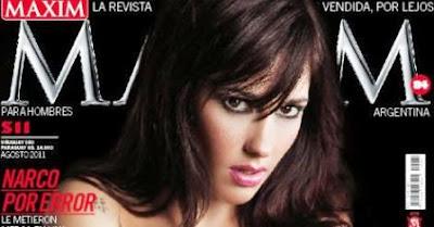 Jésica Hereñu posará para Revista Maxim de Agosto de 2011.