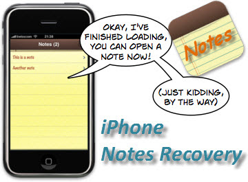recover iPhone notes