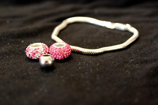 Pink Pandora Beads