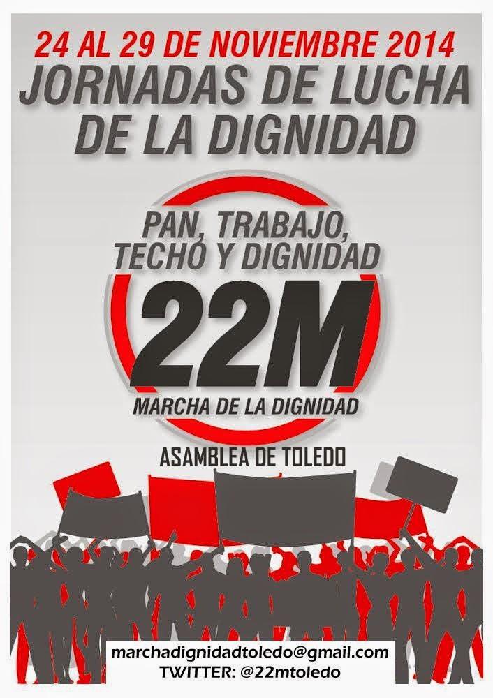 SEMANA DE LUCHA SOCIAL EN TOLEDO