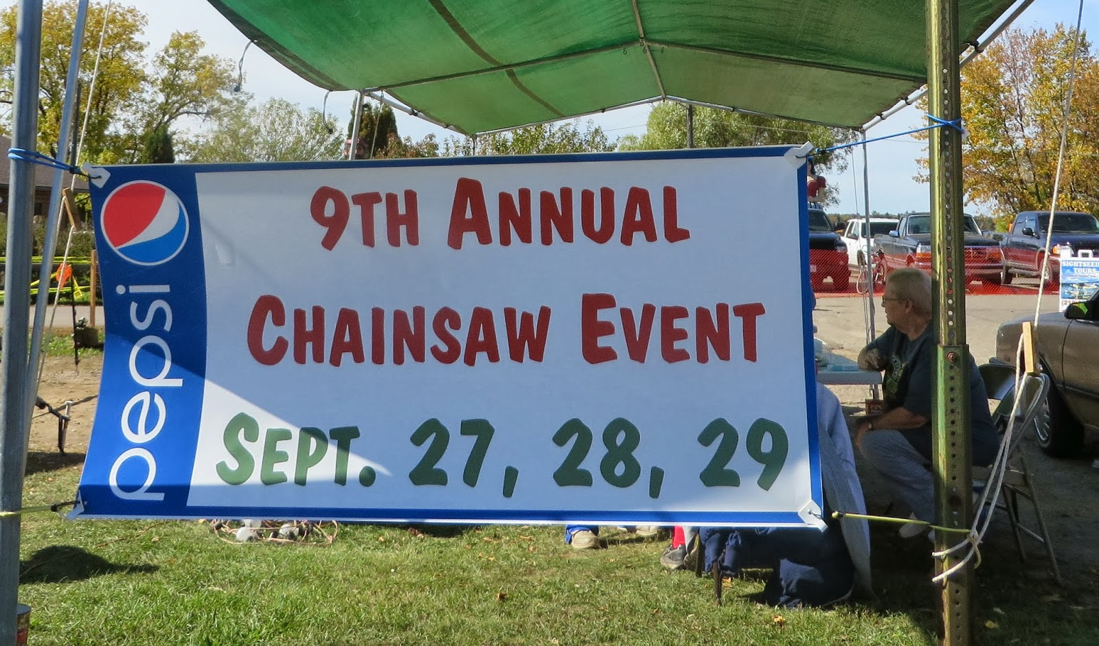 Ever ready hackensack chainsaw carving event