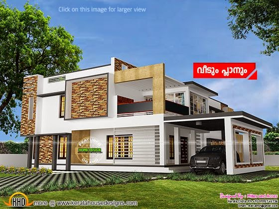 House rendering final