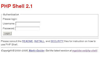 Download PHP Shell 2.1