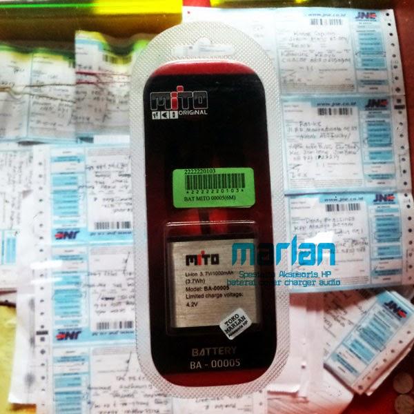 Baterai Mito BA 005 Original Harga Jual Di Baterai Bagus