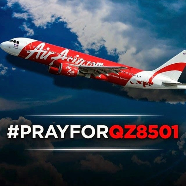 #PrayForQZ8501
