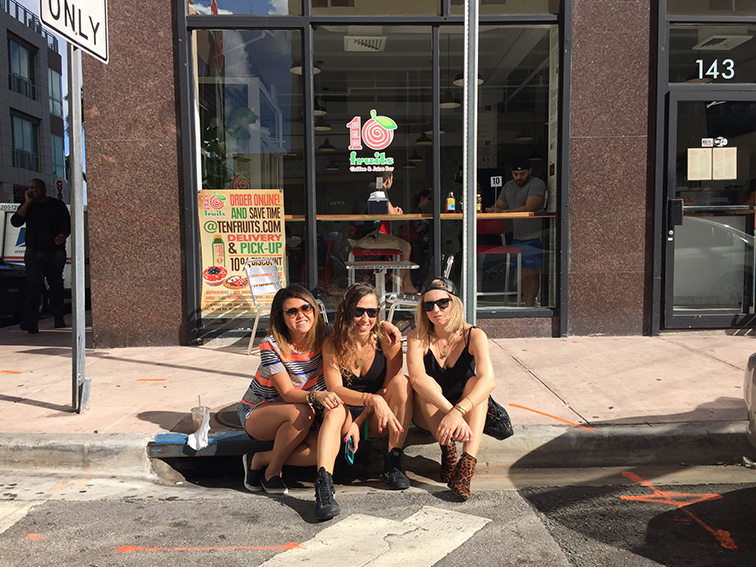 Hanging out curbside in Miami, friends, Zara leopard print booties