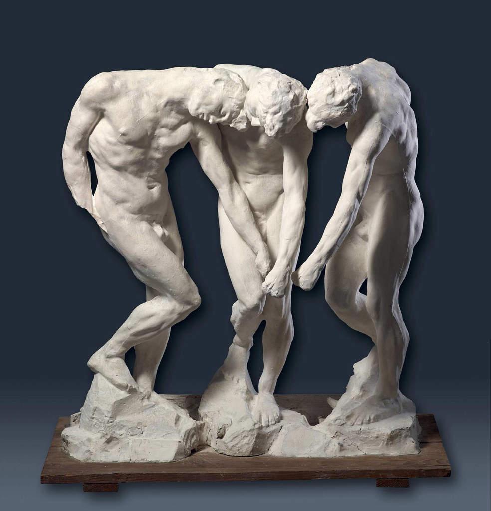 Aa joseph vallot petite histoire de la sculpture partie 1 - La porte de l enfer rodin ...