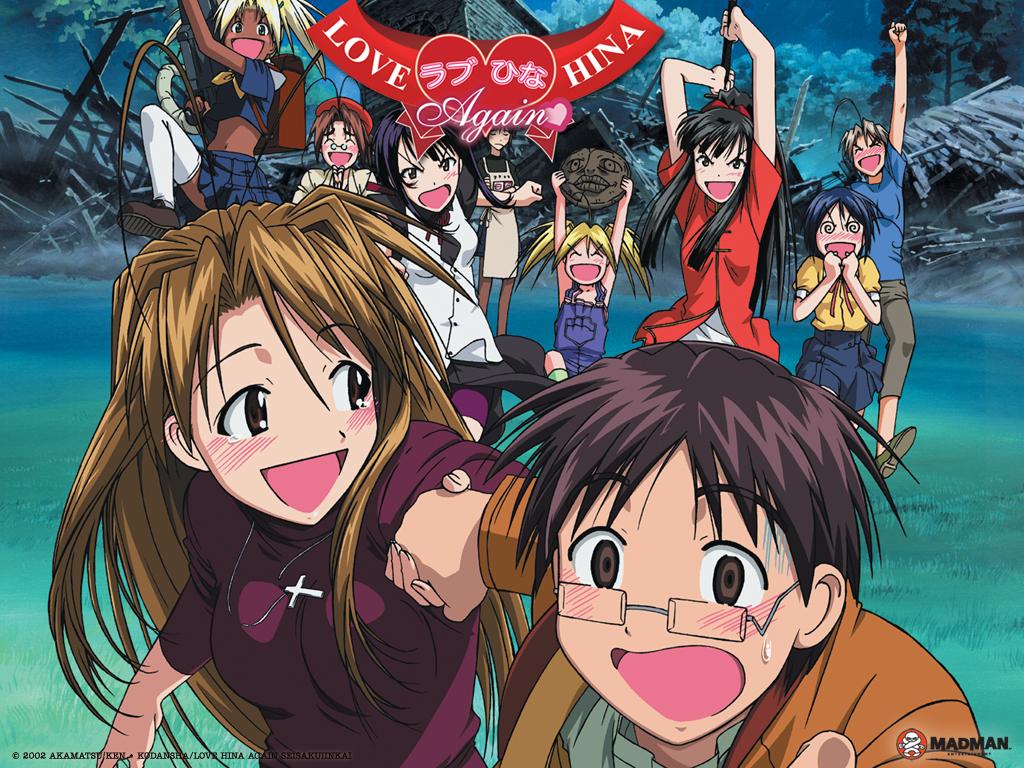 el anime love hina: