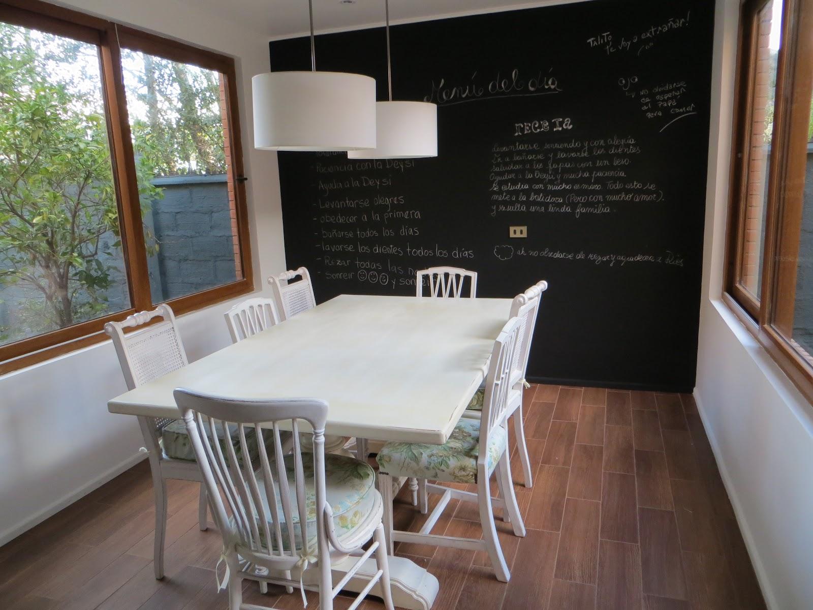 Decora y adora sillas del comedor de diario for Sillas blancas comedor