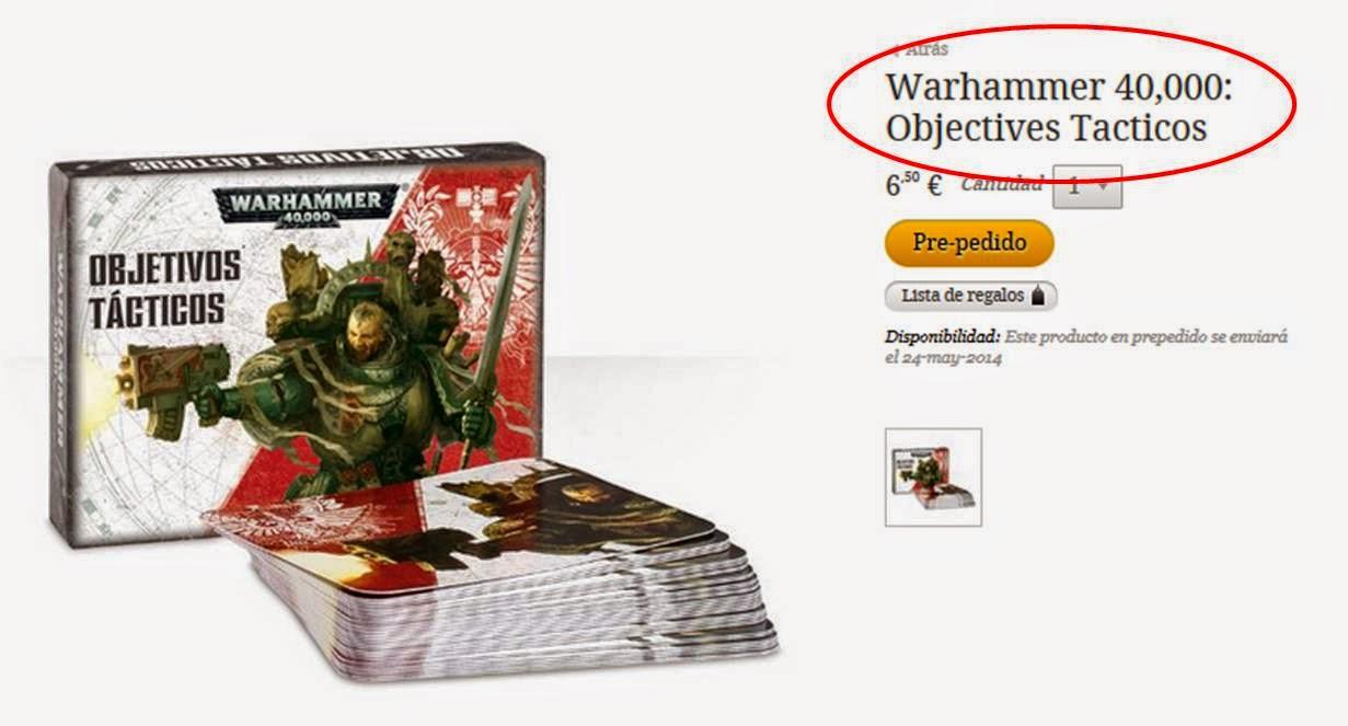 Objetivos o objetives tácticos