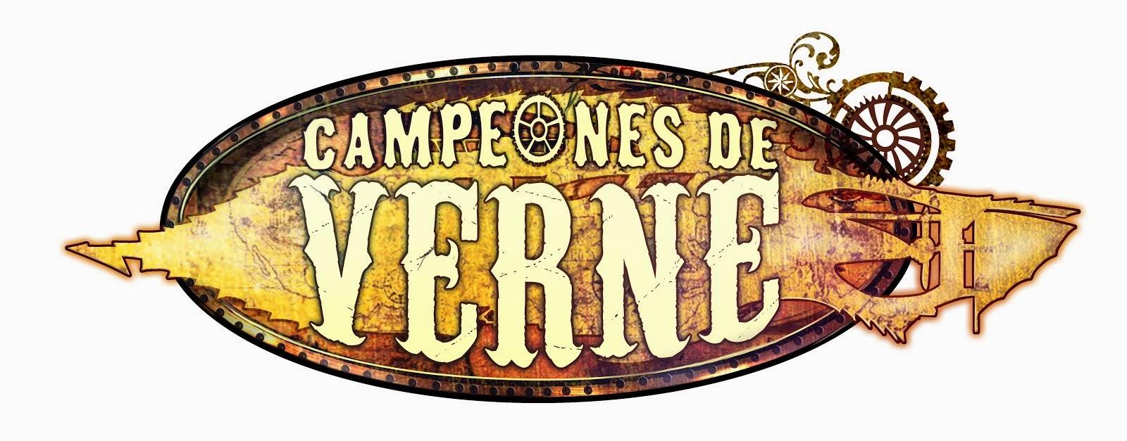 Campeones de Verne.  El juego de rol