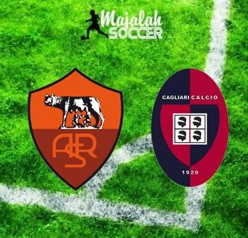 AS Roma vs Cagliari - Prediksi Bola Majalah Soccer