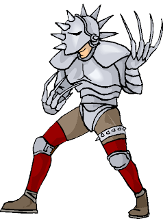 Man with Armor Free Clipart