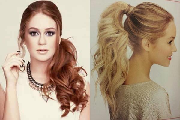 Penteados diferentes usar no verão 2015