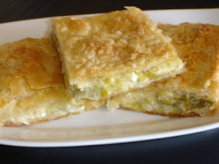 Greek Leek Pie - Prasopita Recipe
