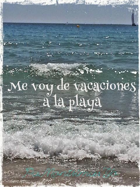 Me voy de vacaciones a la playa de El Campello