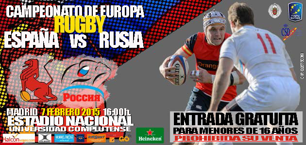 Ampa csb madrid rugby espa a rusia for Autoescuela colonia jardin
