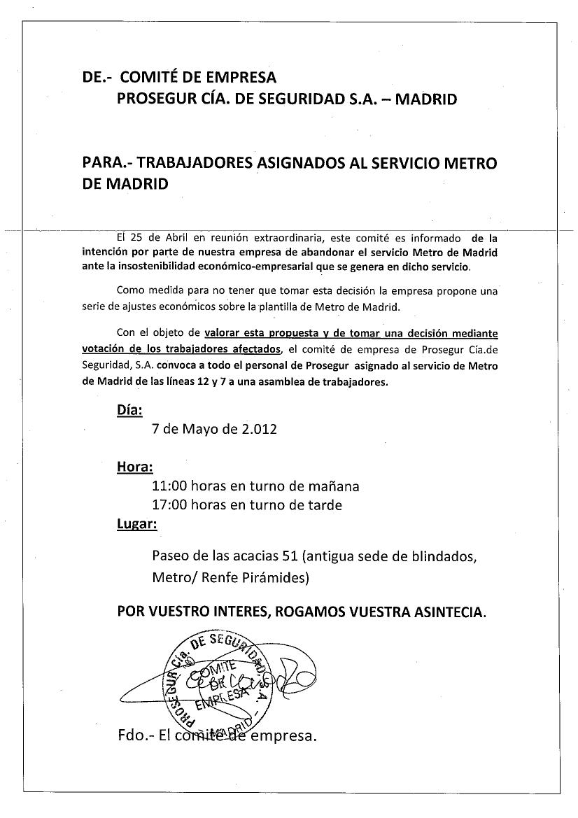 empresa de servicio de seguridad en madrid: