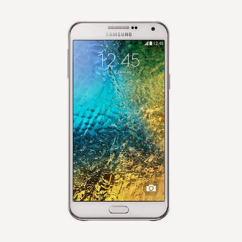 Samsung Galaxy E7 Putih Smartphone