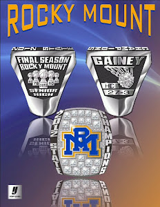 2012 NCHSAA 3-A Boys Basketball State Championship Ring