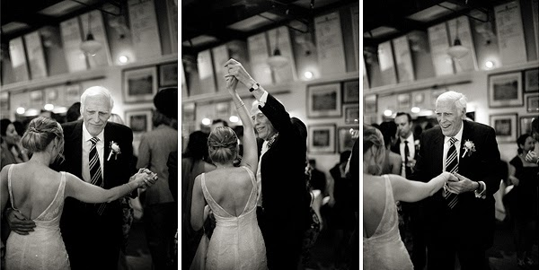 Wedding at London Rowing Club on the Thames. Bride and groom first dance