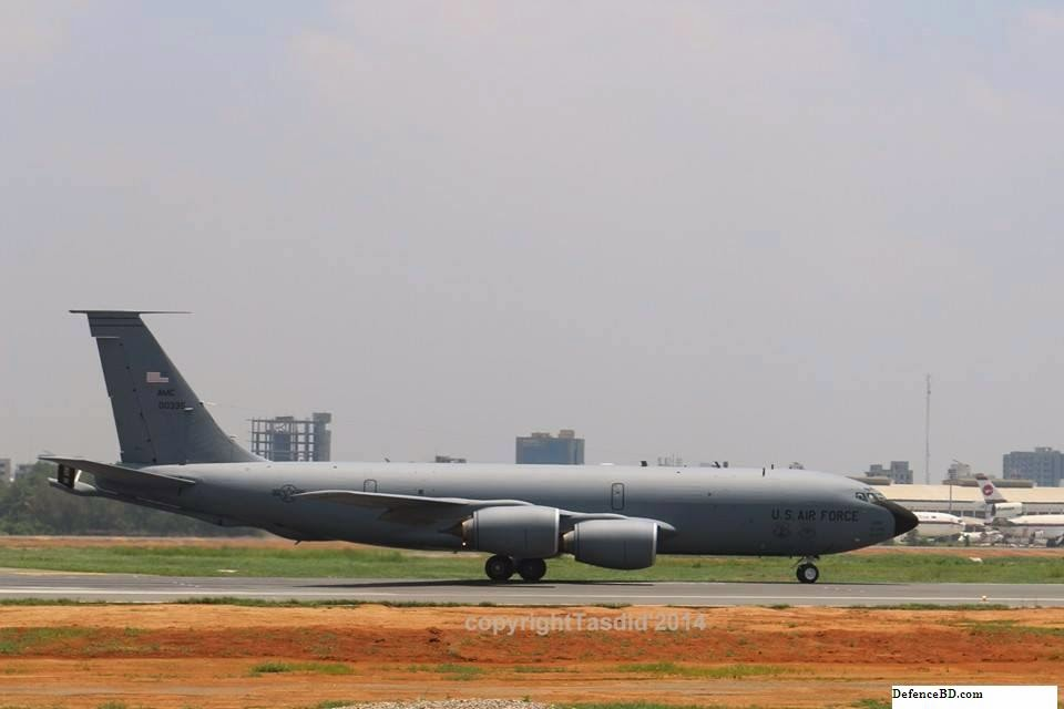 KC-135R Stratotanker of US Air Force in Bangladesh