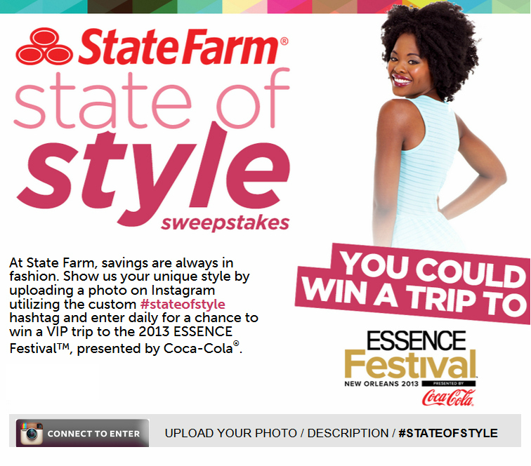 State Farm 'State of Style' Sweepstakes
