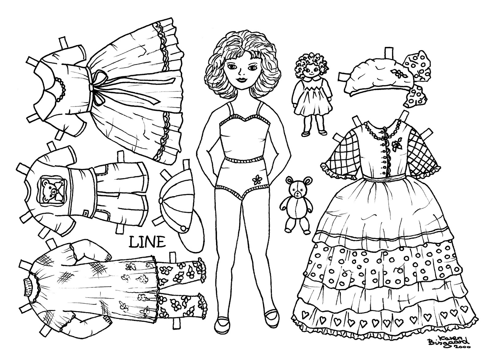Line 1-3 to Print and Colour. New Quality for Better Print.