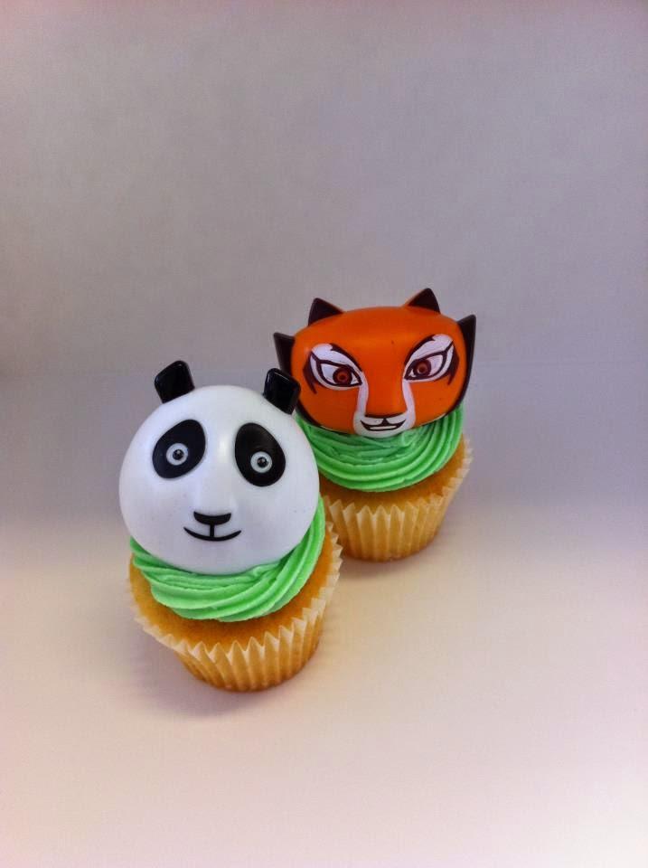 Cupcakes Kung Fu Panda