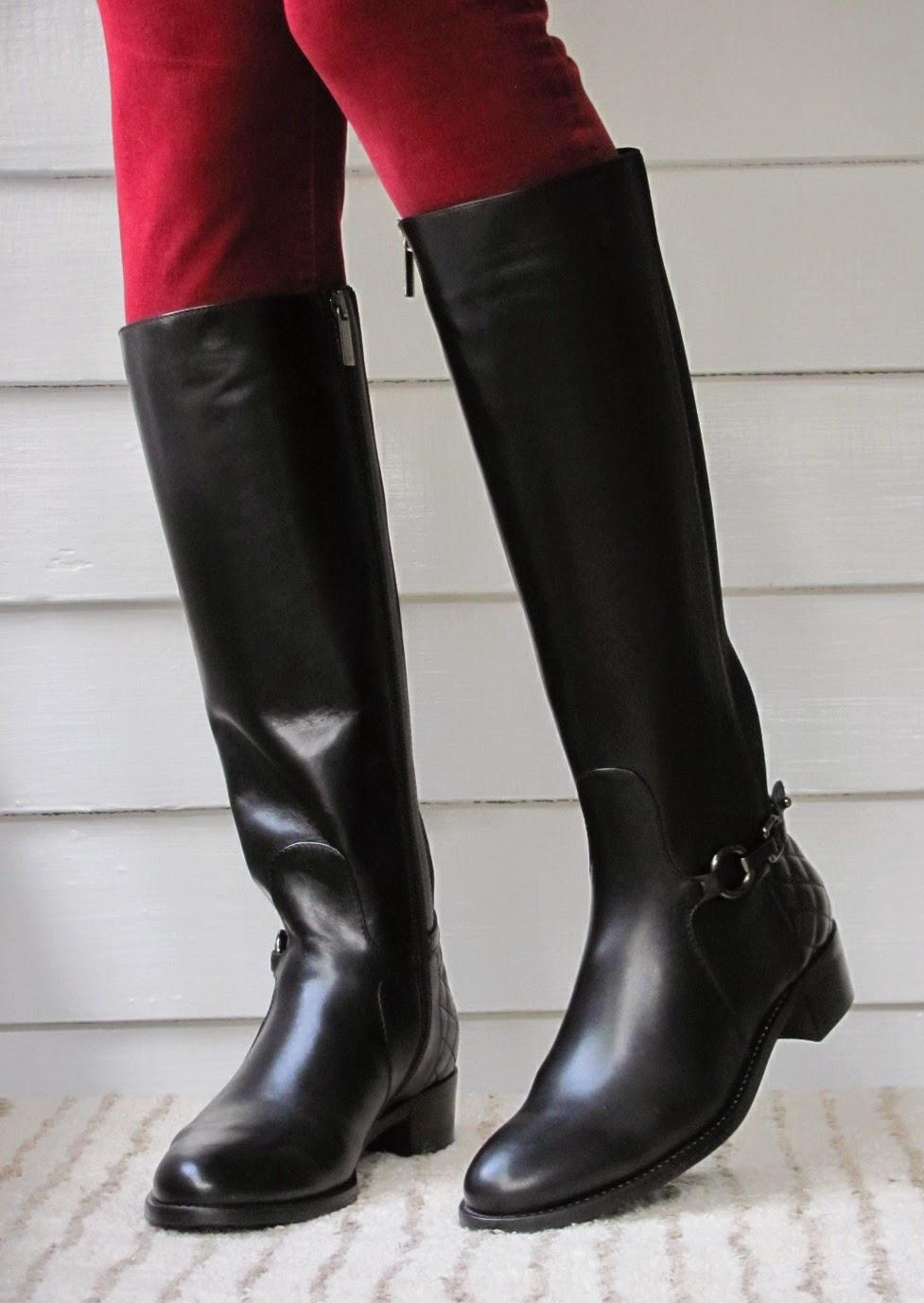 Howdy Slim! Riding Boots for Thin Calves: Aquatalia Oralie