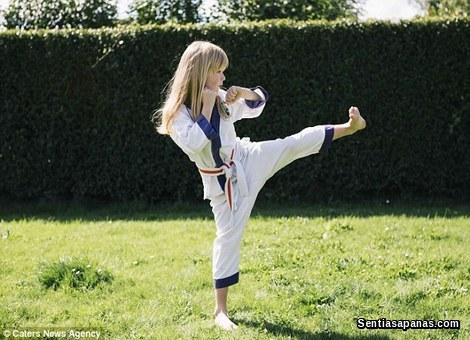 Megan Stone - Karate